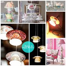 so if you have any old tea cups and saucers lying around that you love but don t have the rest of their sets anymore here s a brilliant idea for all you