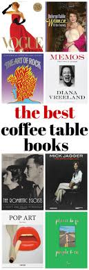 this list of best coffee table books includes books about fashion authors