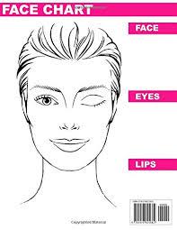Blank Face Chart 2018 Makeup Artist Blank Face Charts Eye Make Up Chart