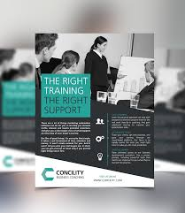 how to make a good flyer for your business concility business coaching one page flyer design on behance mkt