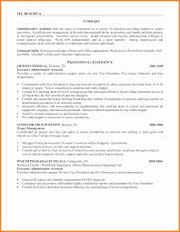Administrative Assistant Sample Resume 60 administrative assistant resume summary statement richard wood sop 52