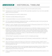 Advertising Timeline Template Example Brief Sample Samples ...