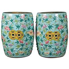 ceramic garden stool cheap. Interesting Cheap Pair Of Chinese Ceramic Garden Stool And Floral Intended Cheap L