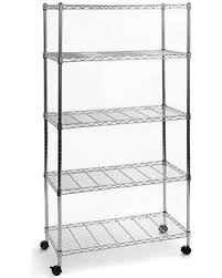 metal storage shelves. seville shelving rack 5 tier storage shelf metal shelves unit home garage organizer wire e