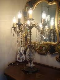 beautiful chandelier table lamps