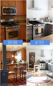 kitchen remodel before after reveal