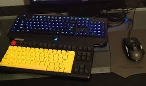 mouse keyboard used by lol dota 2 pros examined living