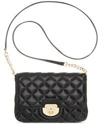 Calvin Klein Quilted Lamb Crossbody - Handbags & Accessories - Macy's & Calvin Klein Quilted Lamb Crossbody Adamdwight.com