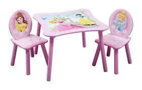 delta children table chair set disney princess
