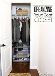 Image Shoe Storage Tips For Organizing Your Coat Closet Pinterest 237 Best Organize Closets Images In 2019 Organizations