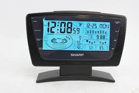 sharp weather station. sharp wireless weather station model spc344 property room n