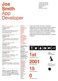 new designs to make your cv resume shine boluga app development shine betelgeuse resume design