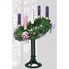 Advent Wreath Decorations Advent Wreath Floor Standing 3925 Churchsuppliescom