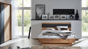 Interliving Schlafzimmer Serie 1004 Bettgestell Alteiche Rustiko