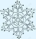 Вязание снежинок крючок схемы
