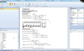 Concrete Design Forms Computer Aided Engineering Software For Concrete