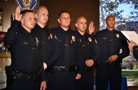 garden grove pd garden grove pd swears in five new officers ing from other police agencies