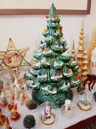 Christmas Tree Village Display Stands Merry Christmas at the Pug Palace 100 Desperately Seeking 90