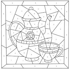 Learn colors, their names and relations with basic teaching materials such as color wheels and flash cards. Mother S Day Color By Number Free Printable Coloring Pages