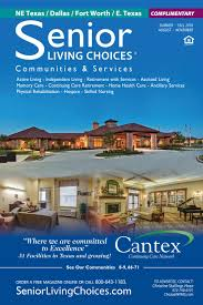 Senior By Design Fort Worth Senior Living Choices Dallas Fort Worth October By