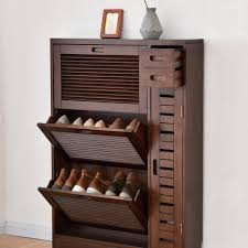 Shoe Cabinets Shoe Rack Living Room Furniture Home Furniture assembly solid  wood shutter door shoes rack hallway locker high end-in Shoe Cabinets from  ...