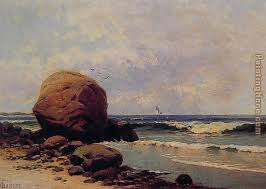 seascape painting alfred thompson bricher seascape art painting