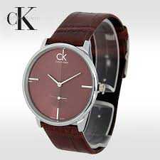 ck watch for men brown color