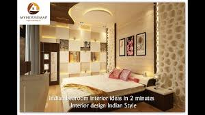 bedroom interior design. Delighful Bedroom Indian Bedroom Interior Ideas In 2 Minutes  Interior Design Style With Bedroom Design O