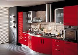Cuisine Rouge Et Grise 35 Photos La Cuisine Tendance Et Moderne