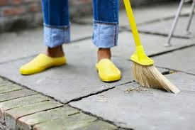basic cleaning services of exterior spaces