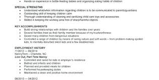 Child Care Resume Sample Child Care Resume Sample Fashionable Idea ...