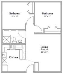 Good Floorplan 2bdrm A. Anja Wittwer · 750 Sq Ft ...