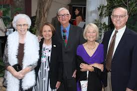 Lighthouse Vision Loss Education Center shows art in a new light at dinner  - Roberta Johnson, Marcia Price and Jim Price and Ann and David Cruikshank  | Your Observer