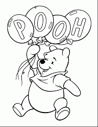 Winnie The Pooh Printable Coloring Pages 65 With Winnie The Pooh