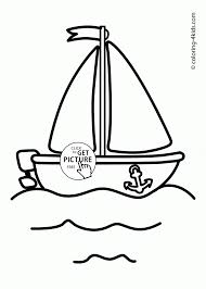 Download Coloring Pages. Boat Coloring Page: Boat Coloring Page ...