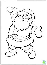 Small Picture Santa Claus coloring page DinoKidsorg