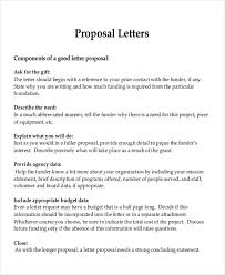 proposal letter example sample formal proposal letter 7 example in pdf word