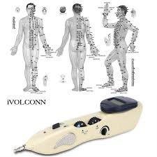 Meridian Energy Pen Chart Ivolconn Acupuncture Pen With Trigger Point Chart Cordless