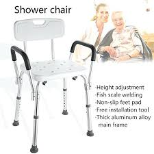 lift chair for handicapped handicap medical bath chair shower chair with back and arms adjule height lift chair