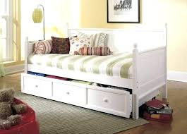 daybed with storage daybed with storage fashionable white wooden bed frames with pull out bed for