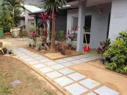 Small Picture Landscape Construction The Designer Garden Co Cairns Boutique