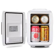 tiny refrigerator office. Wonderful Tiny 4L Mini OfficeCar Travel Fridge Freezers On SalePortable Compact  Refrigerator CosmeticBaby Food Fresh Storage Cooler U0026 Warmerin Refrigerators From Home  Throughout Tiny Office M