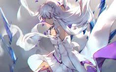 anime re zero starting life in another world emilia re zero
