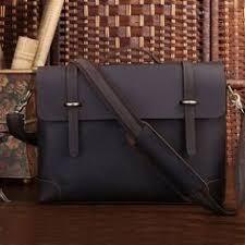 crazy horse leather men s hard briefcase messenger laptop bag travel tote satchel