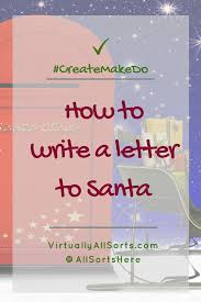 How To Write A Letter To Santa With Free Printable Template