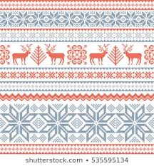 Seamless Pattern Fair Isle Images Stock Photos Vectors