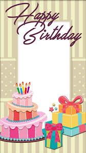 Photo Frame Birthday Cake Frameswallsorg
