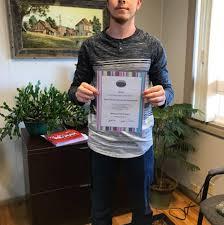 Four Corners Realtors award Dean Hanson scholarship