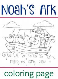 Small Picture Noahs Ark Coloring Page
