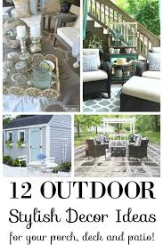 Fine Diy Patio Decorating Ideas Add Summer Coziness And Relaxed With